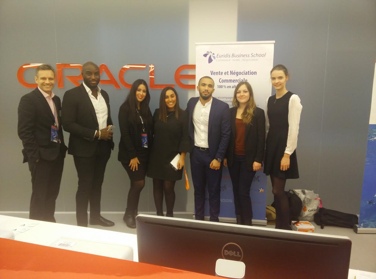 Les étudiants d'Euridis étaient présents lors du #SocialSellingForum