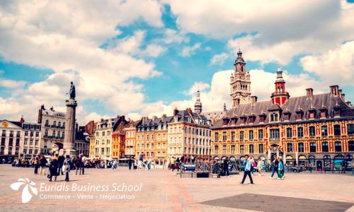 école de commerce, vente et négociation à Lille