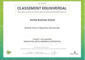 4ème meilleur Bachelor en Vente et Négociation de France