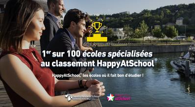 Euridis Business School remporte 1ère place sur 100 écoles spécialisées au classement Happy At School®