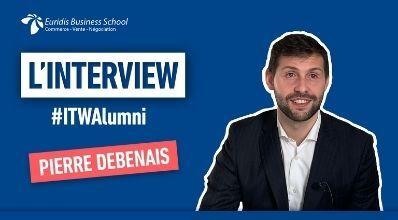 #ITWAlumni – Portrait de Pierre Debenais, ancien étudiant chez Euridis, devenu Southern Europe Sales Manager