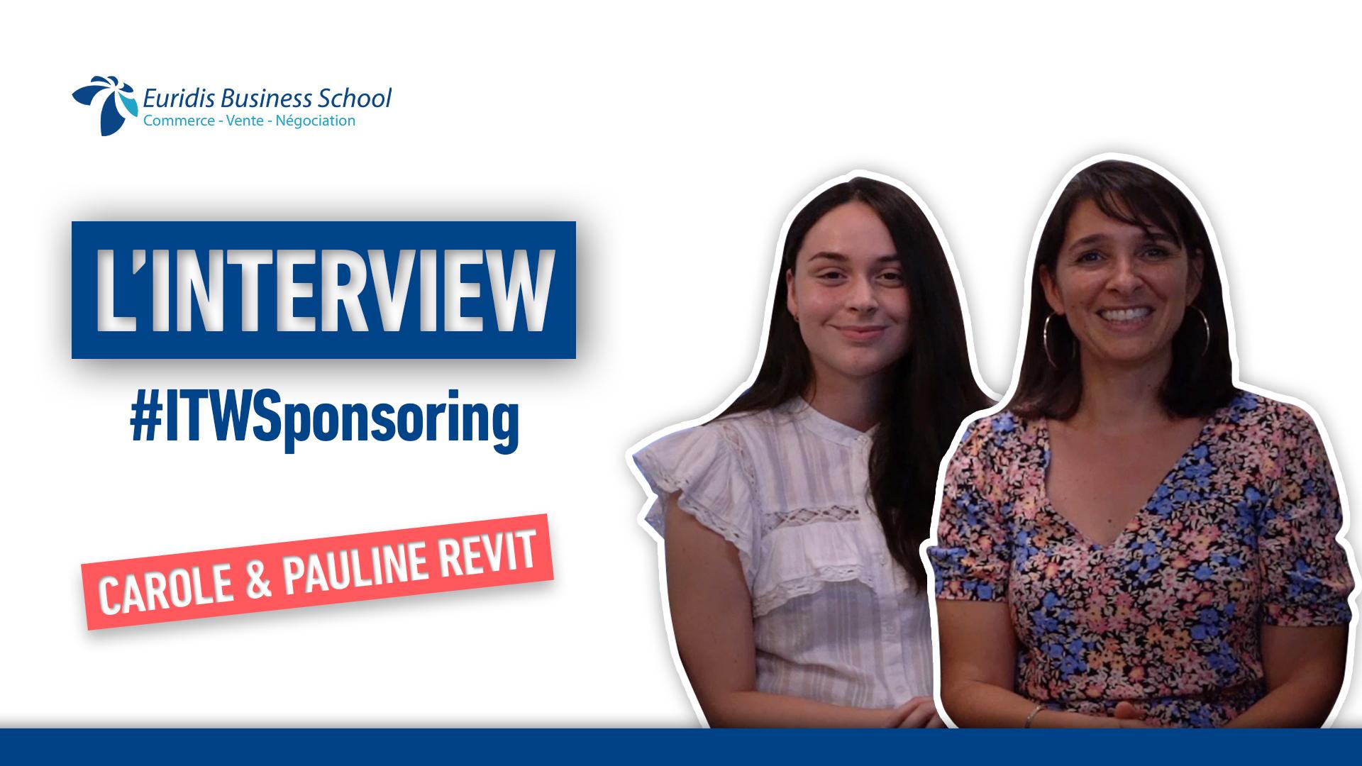 Interview sponsoring : Pauline, étudiante Euridis Business School et Carole Revit -RAID AMAZONES 2021